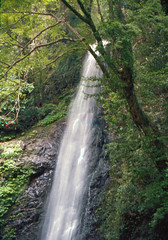 Yourou waterfall  by Film #3