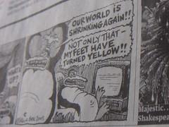 Cartoon im Guardian