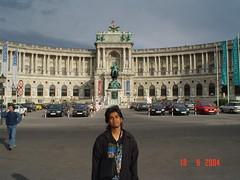 Di Hofburg, Vienna, Austria