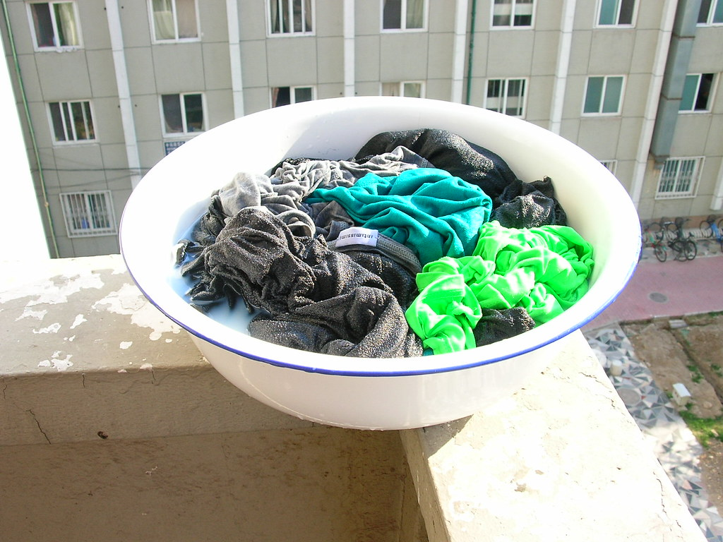 washing and soaking process