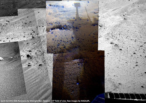 Spirit Sol 606 - Sunset Shadows