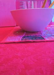Pink dinner yesterday...