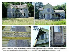 iowa old house collage
