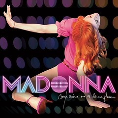 Madonna new album cover Confessions on a Dance Floor