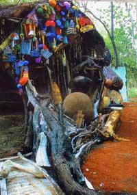 'Le Burkinabé', se llama este homenaje al hombre afrikano