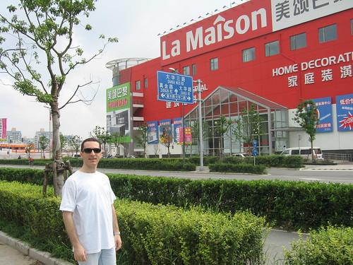 Eddie in China