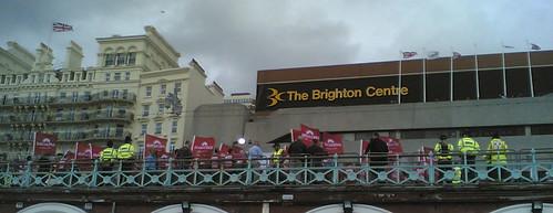 Union Demonstration Brighton