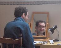 Josh and mirror-Josh