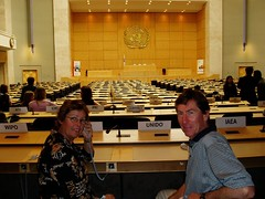 Mum & Dad at the UN
