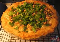 Savory Roast Radish Pie