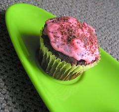 Jo's cupcake.