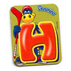 Letter H, Danonino fridge magnet