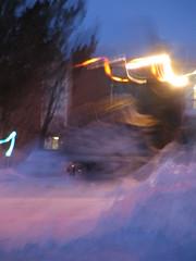 Snow Backhoe