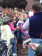 Walk and Bike to School Day!