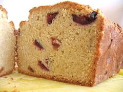 Plum and Cardamom Sweet Bread