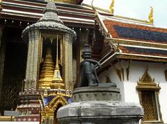 Statue de Chef de moines au Palais royal