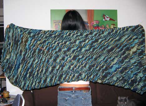 Clapotis from Knitty