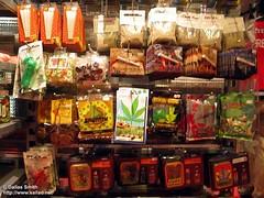 Gula-Gula Marijuana Yg Dijual di Kedai-Kedai, Amsterdam, Netherlands