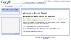 Google Reader beta