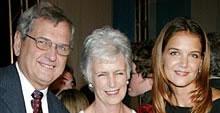 Martin, Kathleen and Katie Holmes