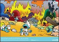 Smurf Village obliterated