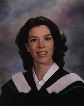 my graduation photo from Trinity Western University