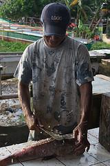 Fish monger