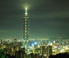 Taipei 101 night scene/台北101夜景(無色溫版) photo by antonio_papago
