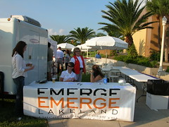 EMERGE Check-In Table