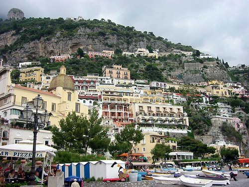 Building up the Cliff, Positano