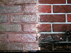 Brick Detail before