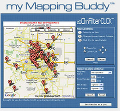 My MApping Buddy Google Map hack for Real Estate