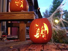 Haunted House Pumpkin