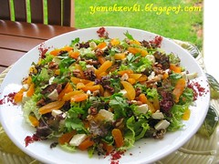 kayısılı göbek salata