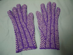 herringbone gloves (palm side)