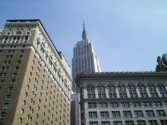 Empire State Building from Penn Plaza