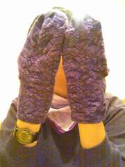 Purple Lady Socks