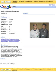 World Domination Coordinator