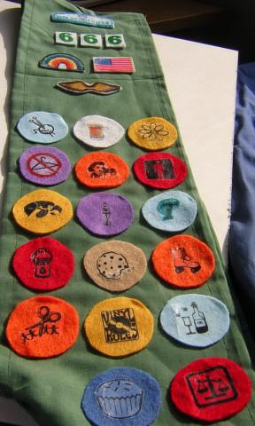 Girl Scout Sash 1