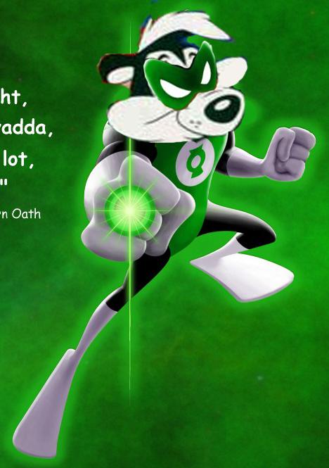 ¡Siempre brillará la luz de los Green Lantern Corps!