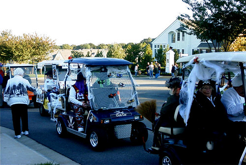 Scary Golf-Carts