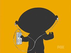 Stewie iPod Ad