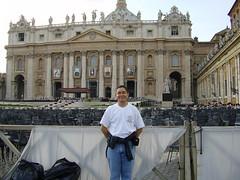 Frente al Vaticano