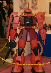 A gundam robot, all the bests robots seemed to be made from plastic :(