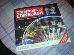 Christmas in Edinburgh booklet