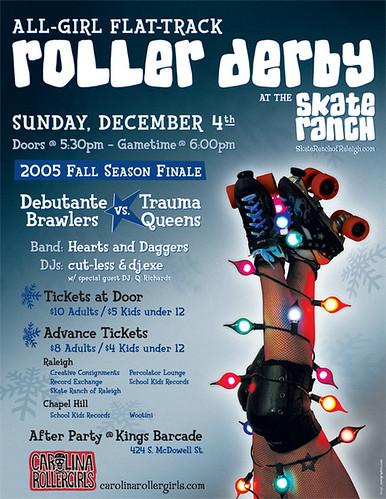 Carolina Rollergirls - December 4, 2005