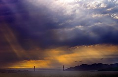 Storm over the Golden Gate
