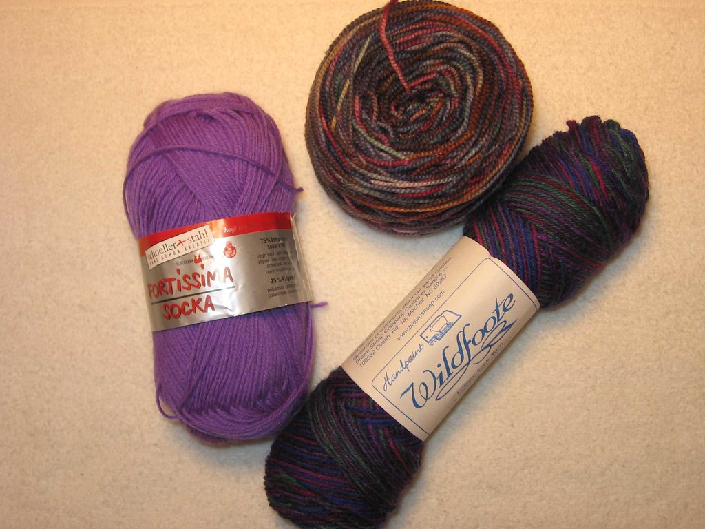 More yarn for solstice socks
