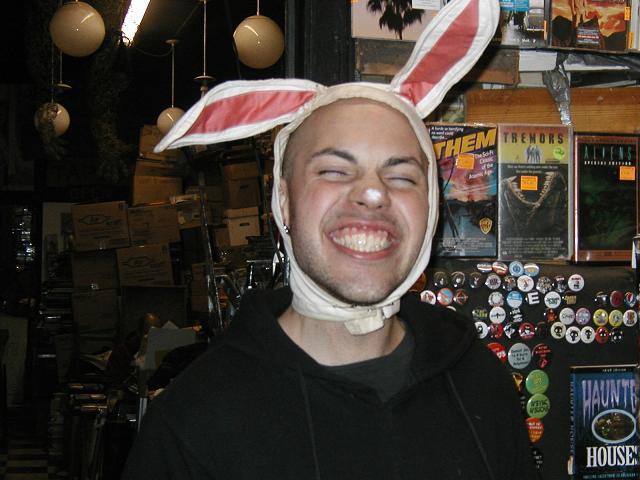 He's a bunny