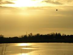 Balloon and Lake